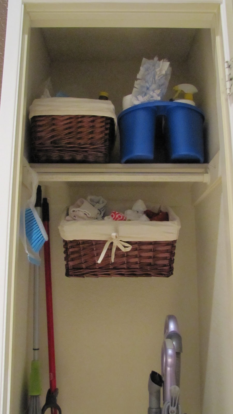 Adventures In Diy Cleaning Supply Closet