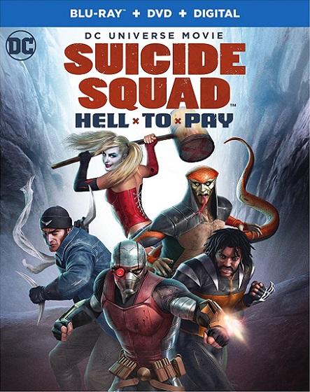 Suicide Squad: Hell to Pay (Escuadrón Suicida: Deuda Infernal) (2018) 720p y 1080p BDRip mkv Dual Audio AC3 5.1 ch