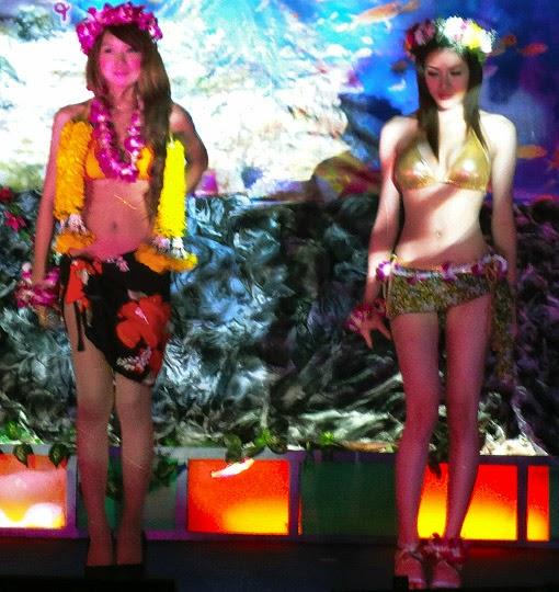 Exotic Asian girls show