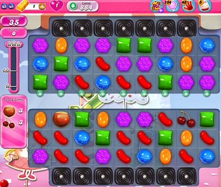 Candy Crush Saga 884