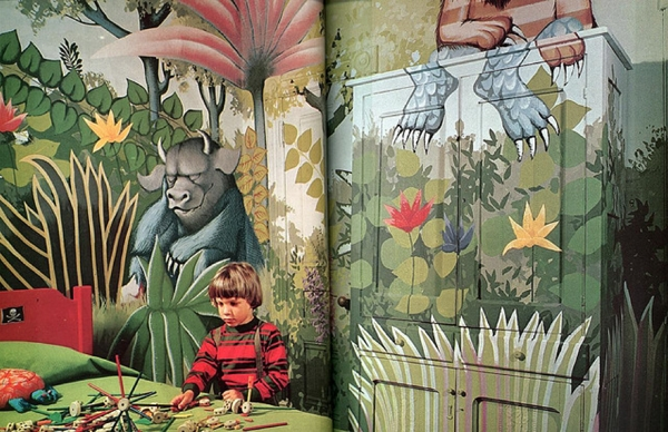 New moon interiors for kids where the wild things are theme children 39 s bedroom - Kids rumpus room ideas ...