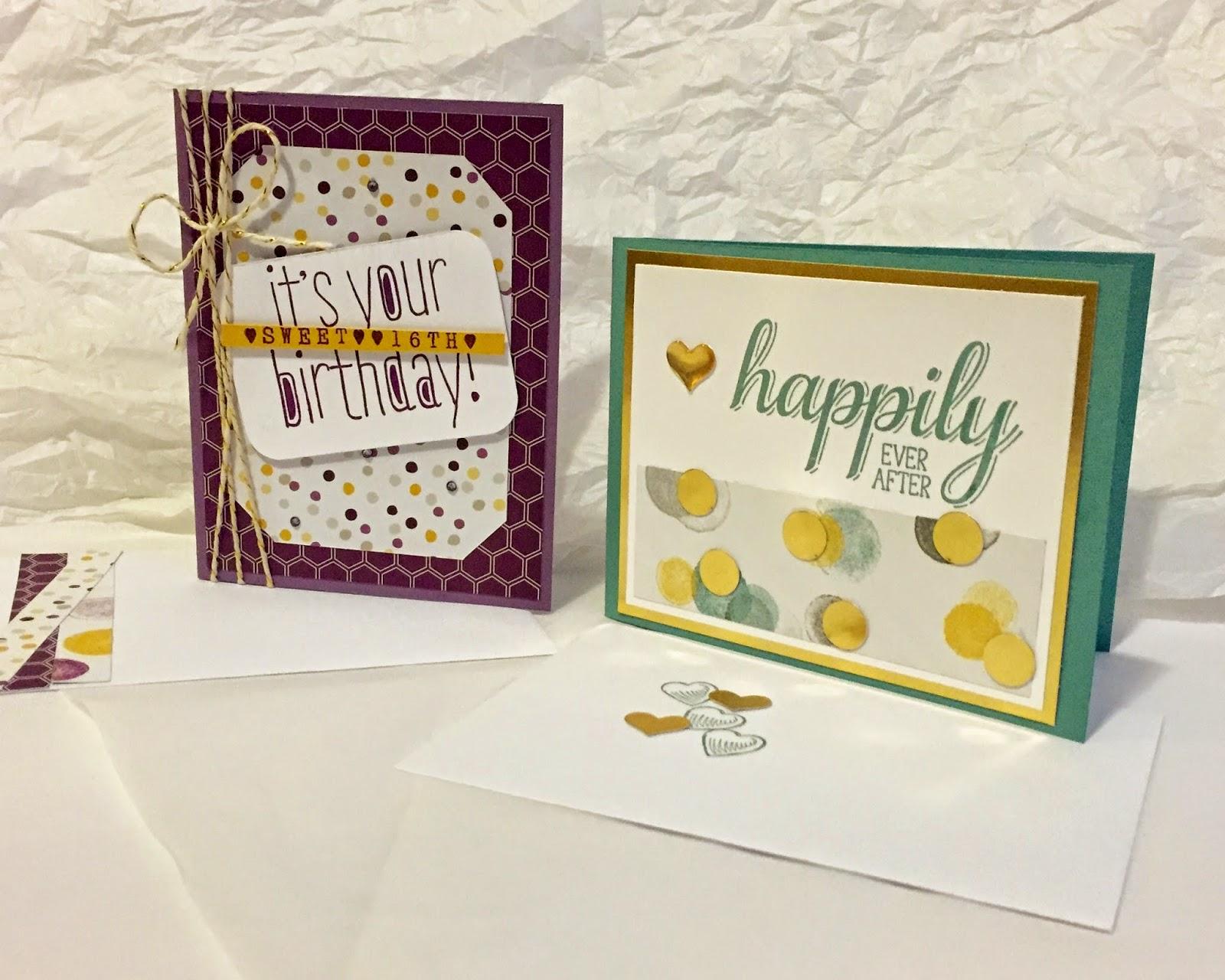 Big News stamp Moonlight DSP Stampin Up MidnightCrafting Wedding and Birthday