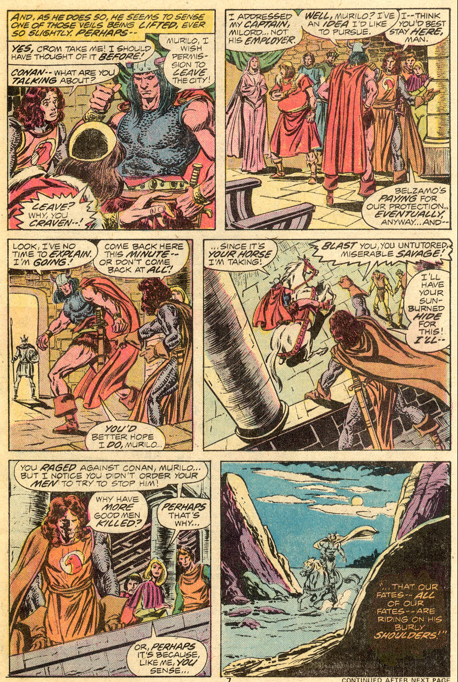 Conan the Barbarian (1970) Issue #55 #67 - English 6