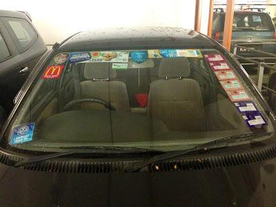 roadtax kereta tak boleh buka