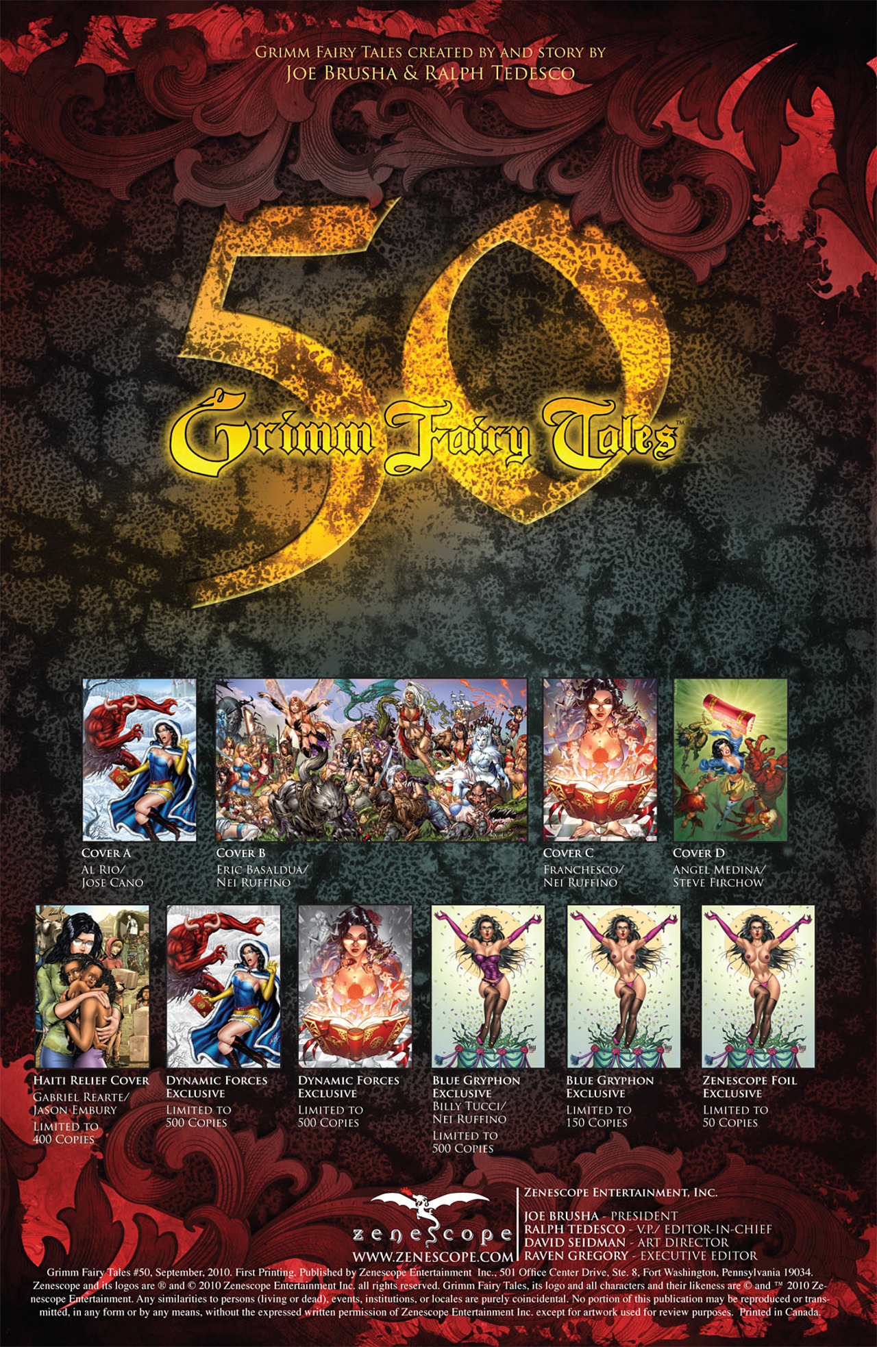 Grimm Fairy Tales (2005) Issue #50 #53 - English 2
