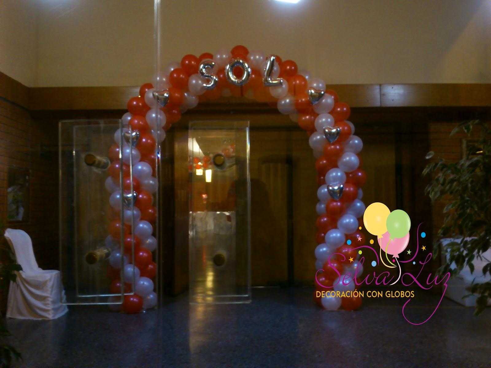 Selva luz decoraci n con globos buenos aires argentina for Decoracion de 15 anos con globos