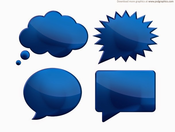 Speech Bubbles PSD