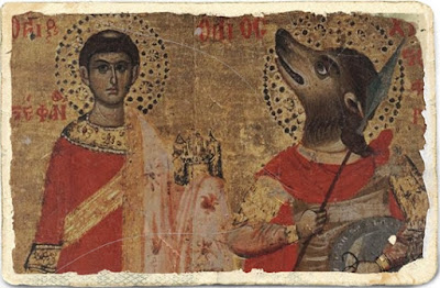 St. Christopher with a dog's head