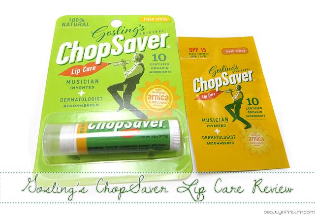 Gosling's ChopSaver Lip Care