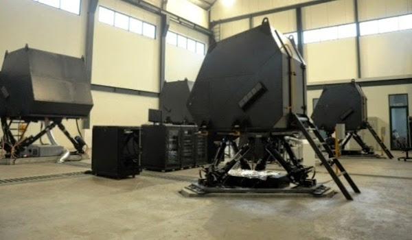 Simulator Kendaraan Militer Buatan PT Technologi and Engineering Simulation (TES). PROKIMAL ONLINE Kotabumi Lampung Utara