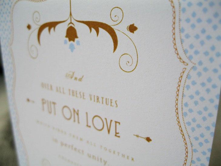 Ink Parade Paperie Custom Wedding Invitations Stationery