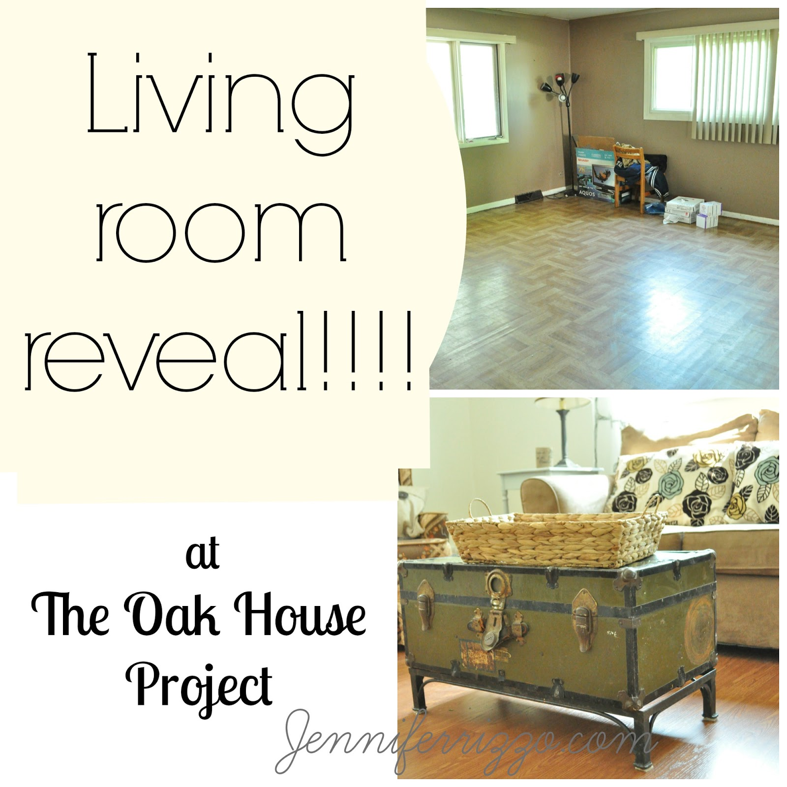 Complete Living Room Reveal With Beforeu0027s And Afters!