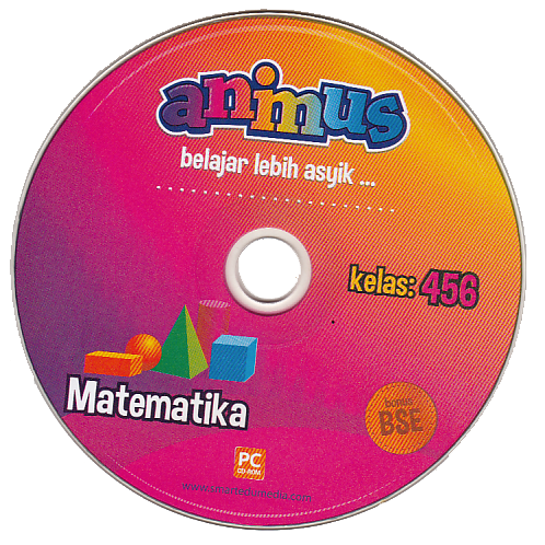 Cd Animus Matematika Kelas 4 5 6 Sd Mi Cd