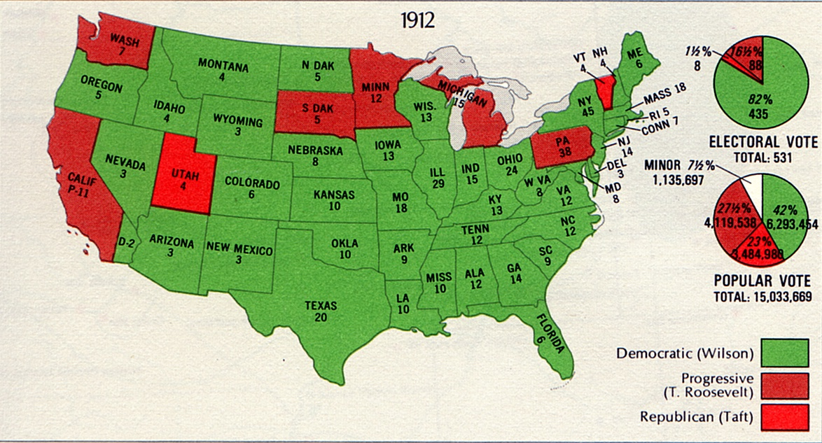 Freedom Writing: The Election of 1912