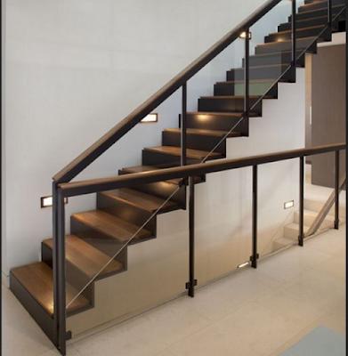 railing tangga minimalis stainless steel