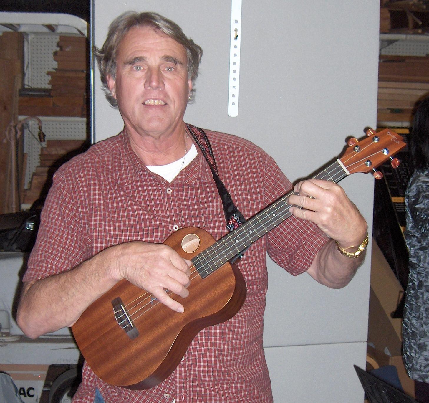 Humble Baritonics Recently At The Berkeley Ukulele Club