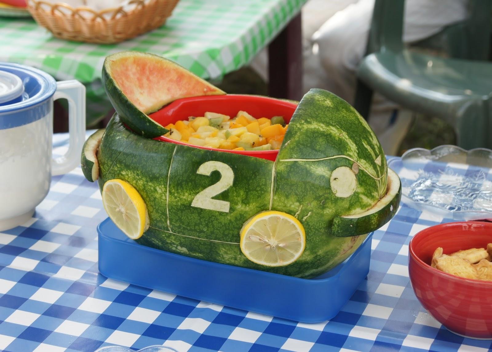 Auto z arbuza