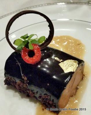 The Driskill -- chocolate terrine