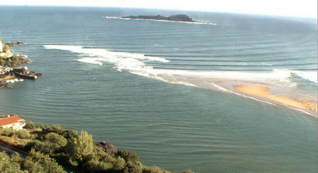Fotos de la ola de Mundaka