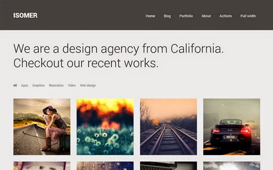 Isomer WordPress Theme