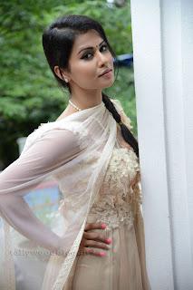 Sharmila Mandre pos at Kevvu keka SM 014.jpg