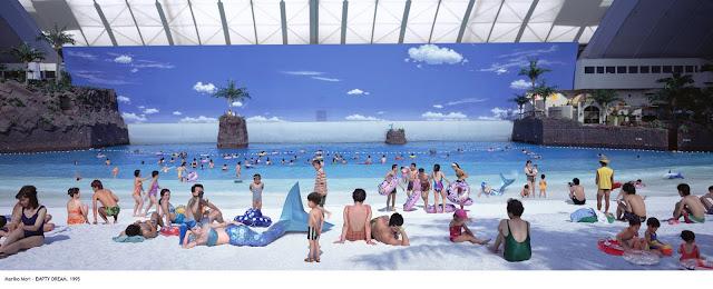 essay the beach