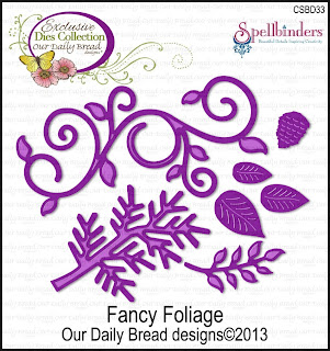 Our Daily Bread Designs, Fancy Foliage Dies