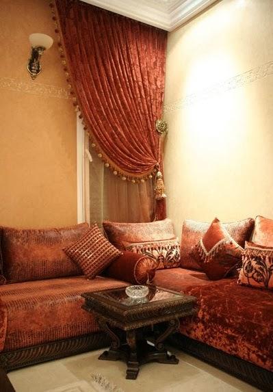 d coration de salon marocain salon marocain confort design royal. Black Bedroom Furniture Sets. Home Design Ideas