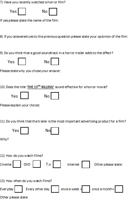 Questionnaire Template For Friendship Example Of Friendship ...