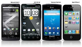 Inilah Info 6 Smartpone terbaik Tahun 2012