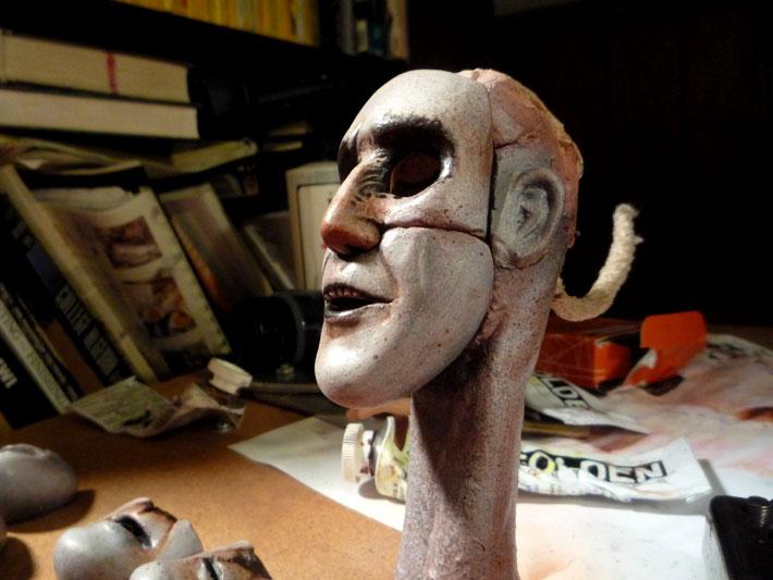 Stopmotion Puppet Heads © 2012 Jeff Lafferty