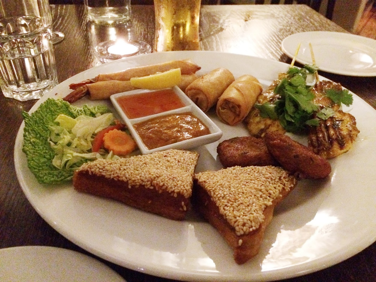 The Fox Inn Tangley review, Hampshire Thai restaurants, food bloggers, FashionFake