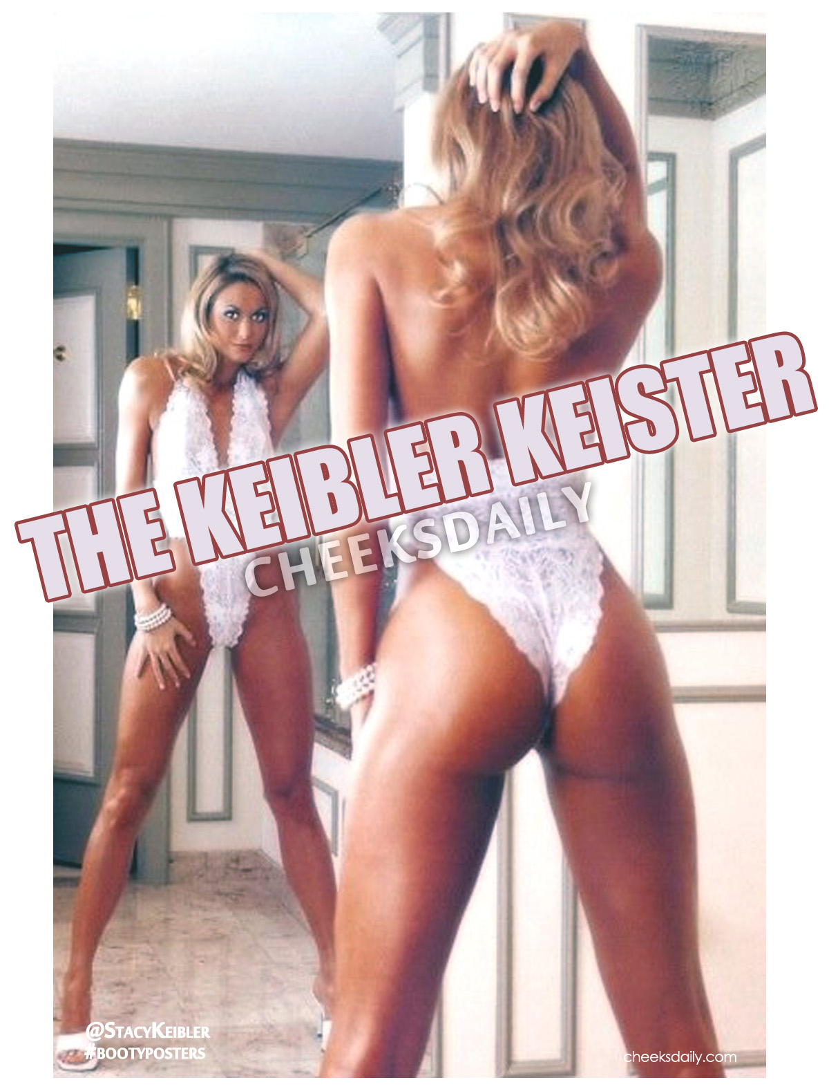 Stacy Keibler does The Keister on ThongThurday