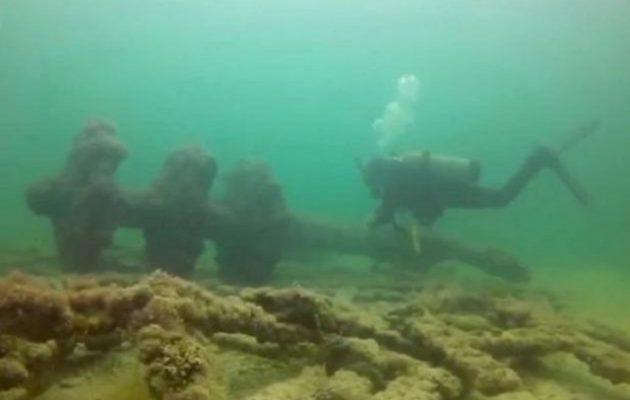 Aνακαλύφθηκαν πολεμικά πλοία που βρίσκονταν για αιώνες στο βυθό της θάλασσας στο Μεξικό