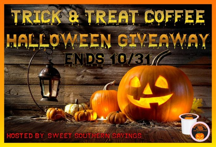 Trick or Treat Coffee Giveaway