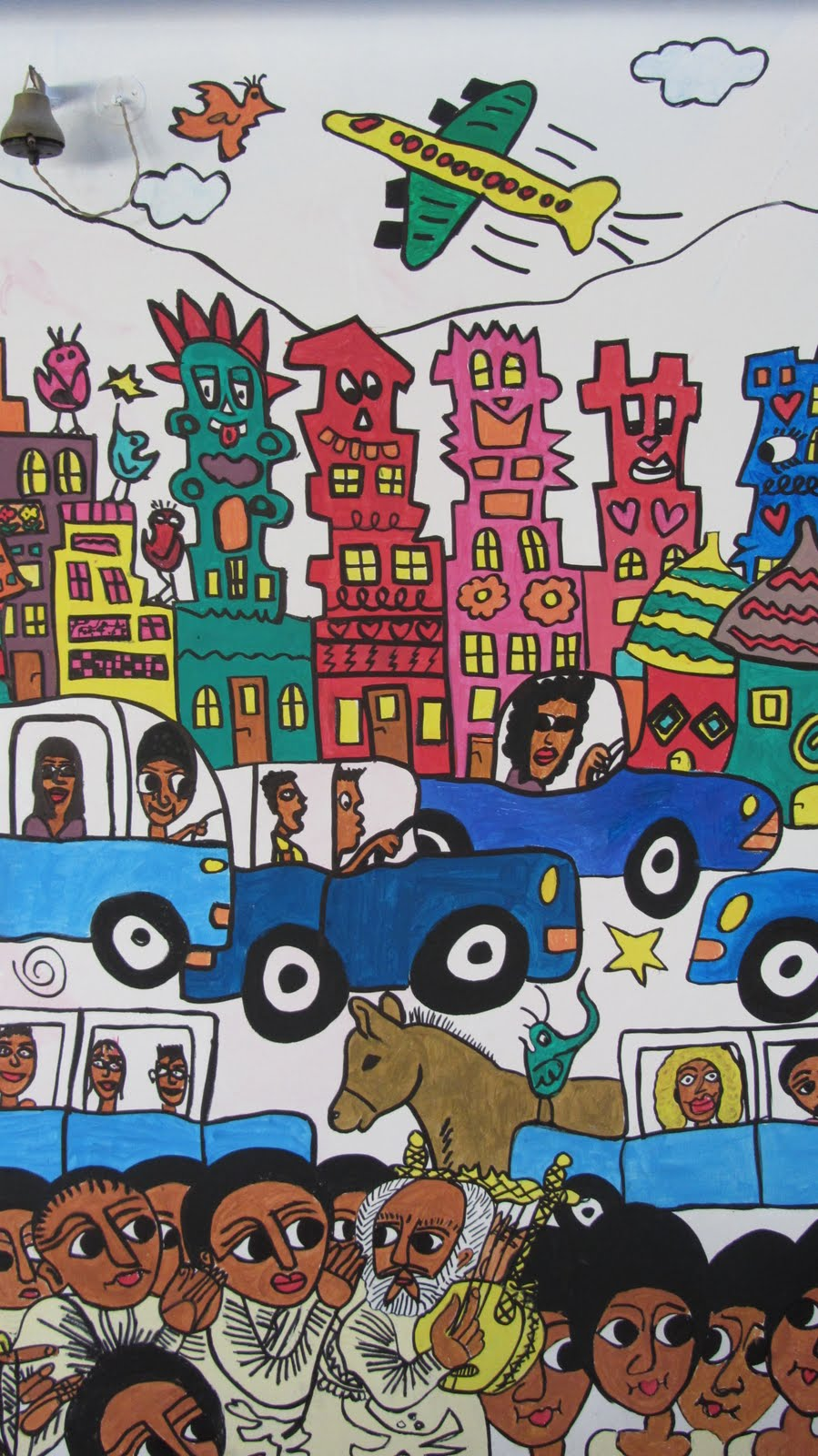 kunstraum: Rizzi nun auch in Addis Abeba