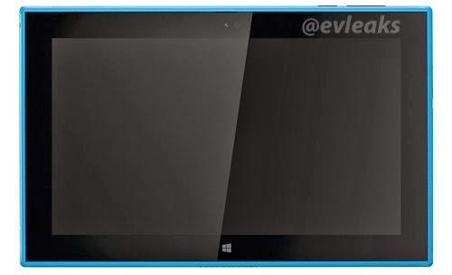Svelata l'immagine del tablet windows rt di Nokia Lumia 2520 nella versione rossa