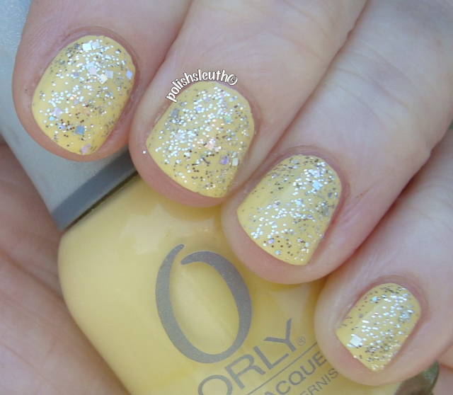 Orly's Lemonade & OPI's In True Stefani Fashion