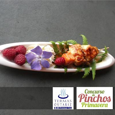 Termas Outariz, saborea Ourense, pincho primavera