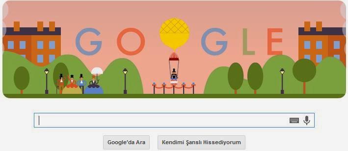 Google 22 Ekim Doodle