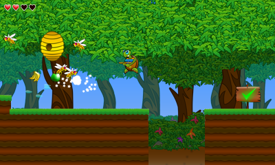 Turtle Tale 3DS Screenshot 2