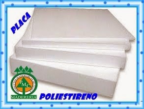 Productos maderables de cuale hielo seco o poliestireno for Placas de poliestireno para techos precios