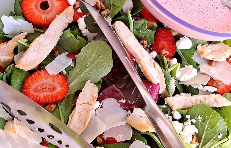 Strawberry Fields Spring Chicken Salad