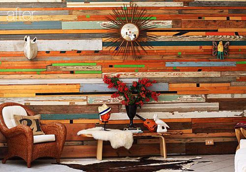 Hogar Decora: Paredes de madera / Wooden walls