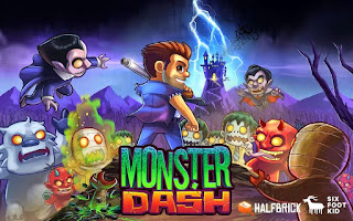 Monster Dash Apk Mod Free Shopping New Version