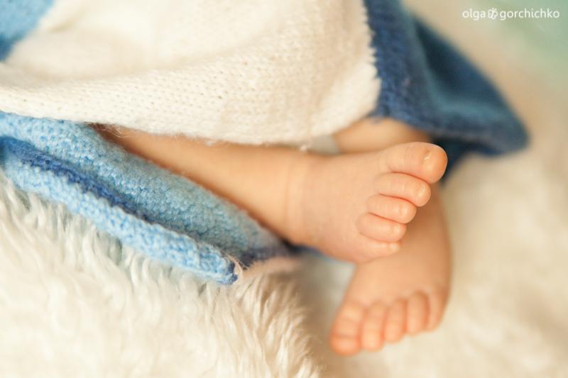 Фотографирование новорожденных. Фёдор. Детский фотограф Ольга Горчичко