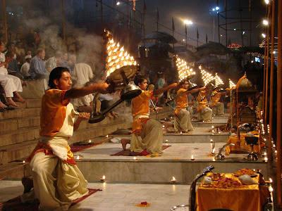 Aarti, Dasaswamedh Ghat, Varanasi