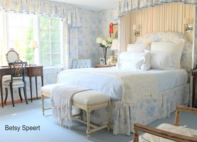 betsy speert's blog: cottage master bedroom