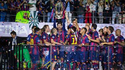 Permalink to Video Pesta Barca Juara Champions 2015