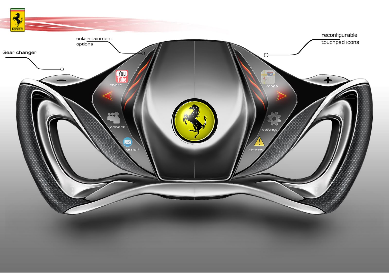 Car Design And My Life Ferrari Joystick